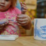 Otisk prstů na keramiku